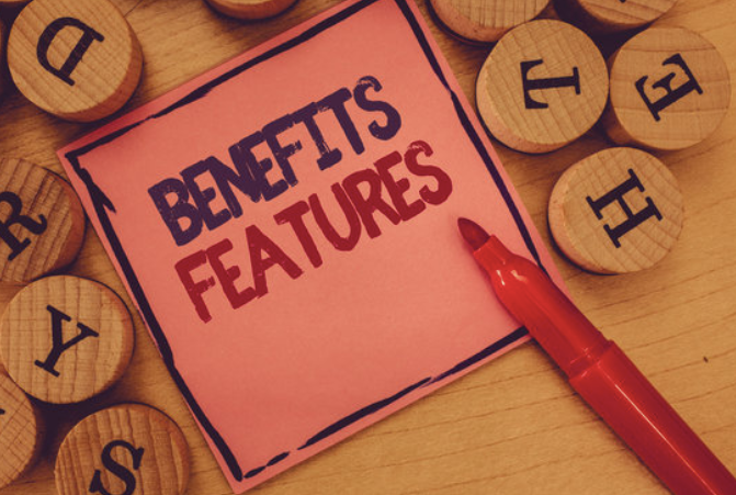Benefits features