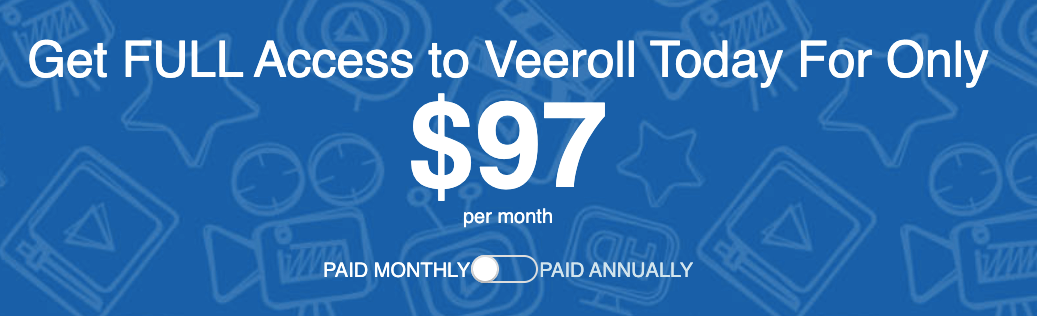 Veeroll pricing